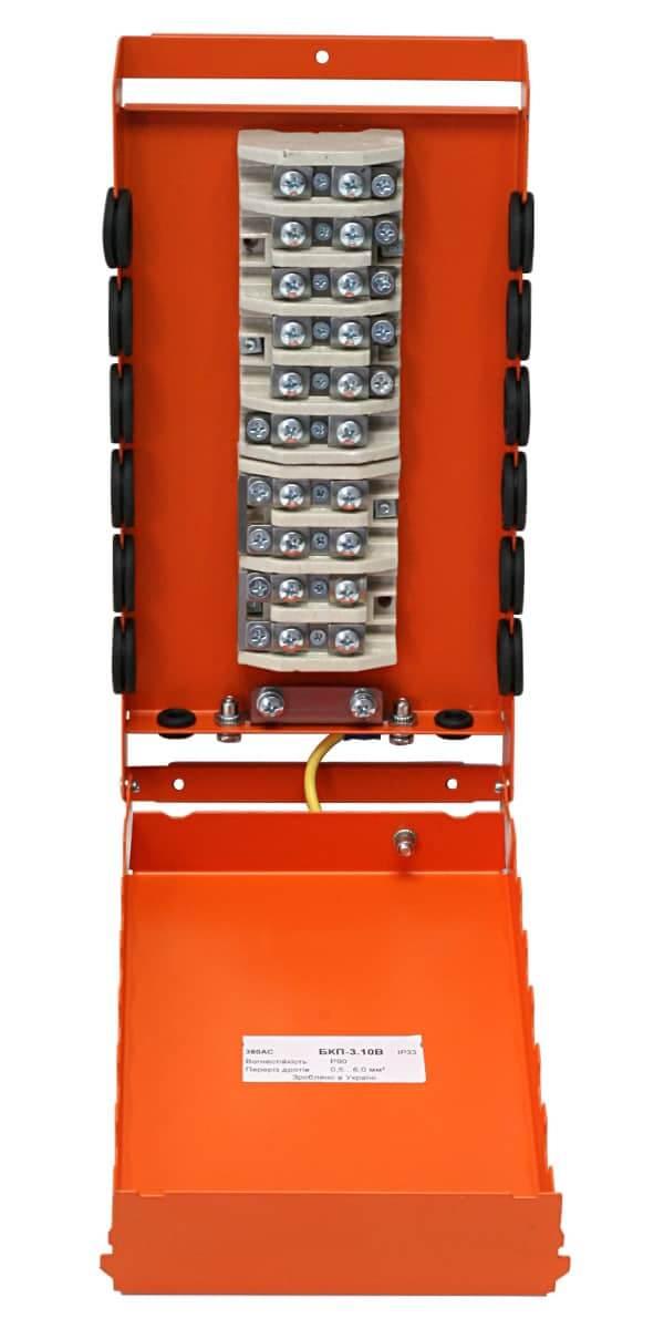Коробка монтажна розподільча вогнетривка БКП-3.10B