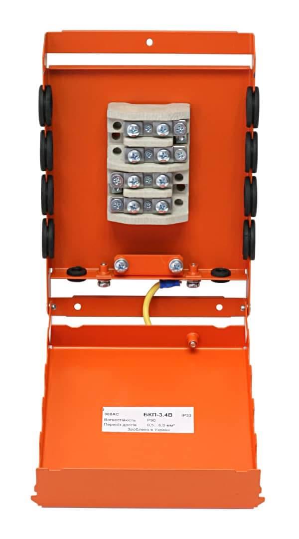 Коробка монтажна розподільча вогнетривка БКП-3.4B