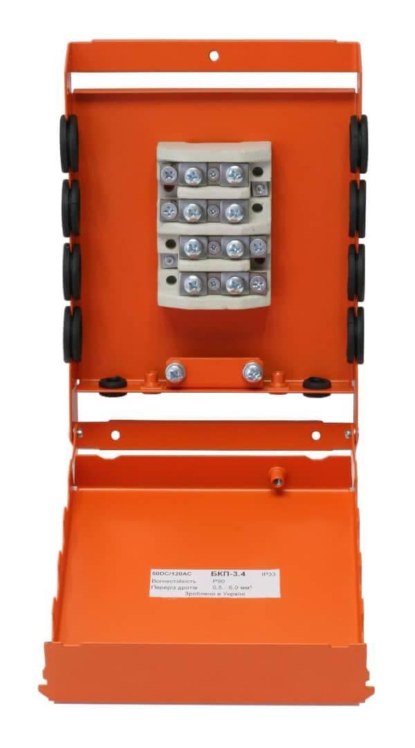 Коробка монтажна розподільна вогнестійка БКП-3.4