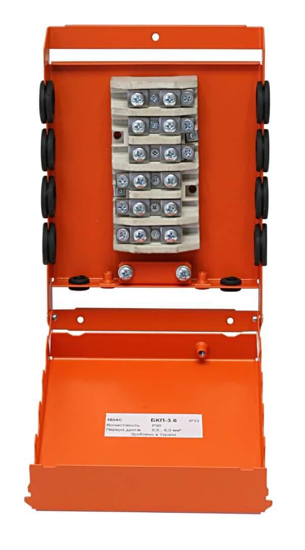Коробка монтажна розподільча вогнетривка БКП-3.6