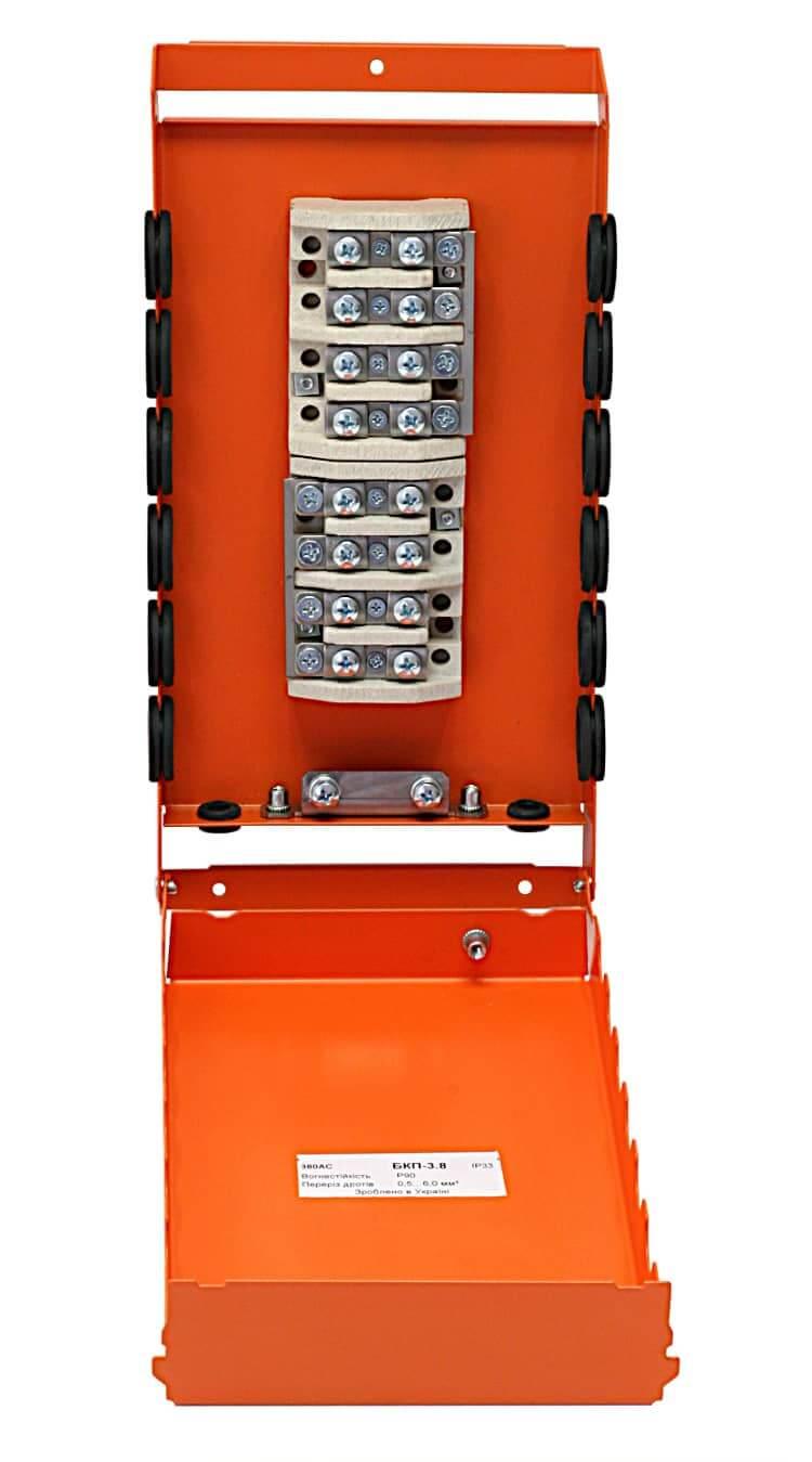 Коробка монтажна розподільча вогнетривка БКП-3.8