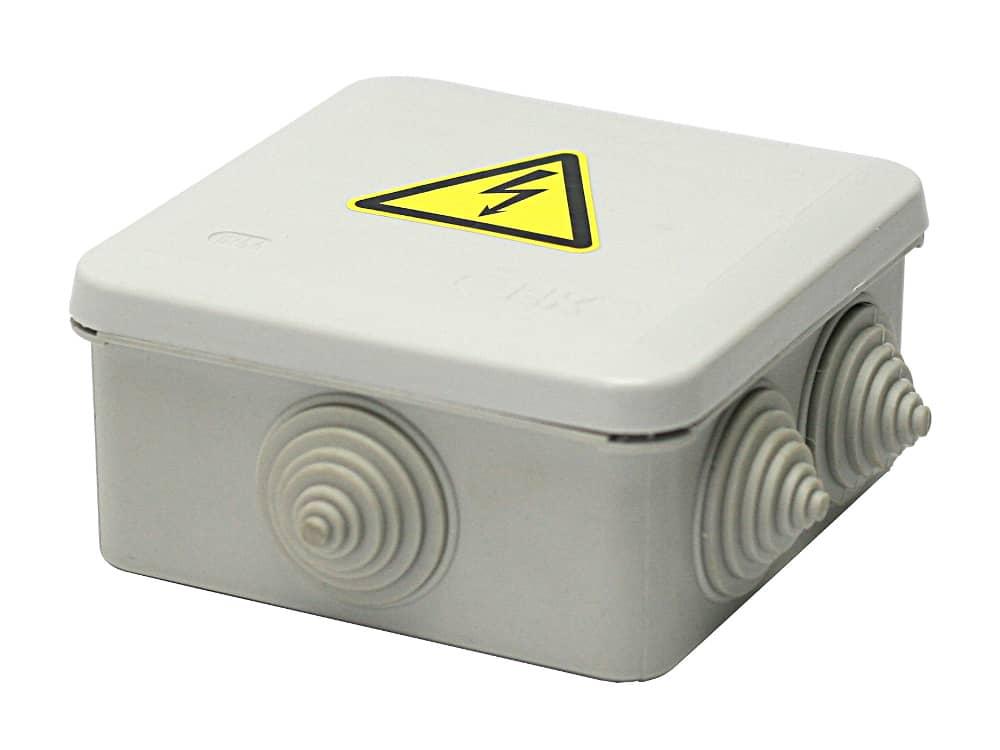 Коробка розподільча вогнестійка пластикова БКП-3