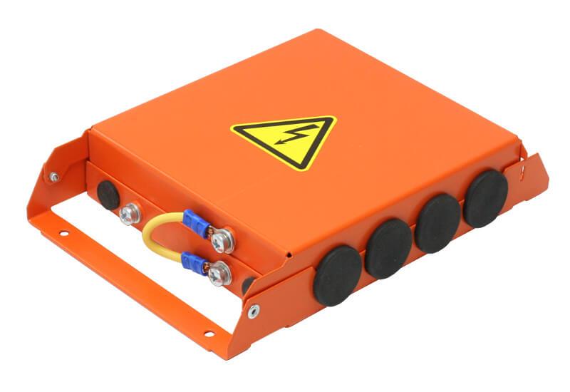 Коробка розподільна вогнестійка металева БКП-3
