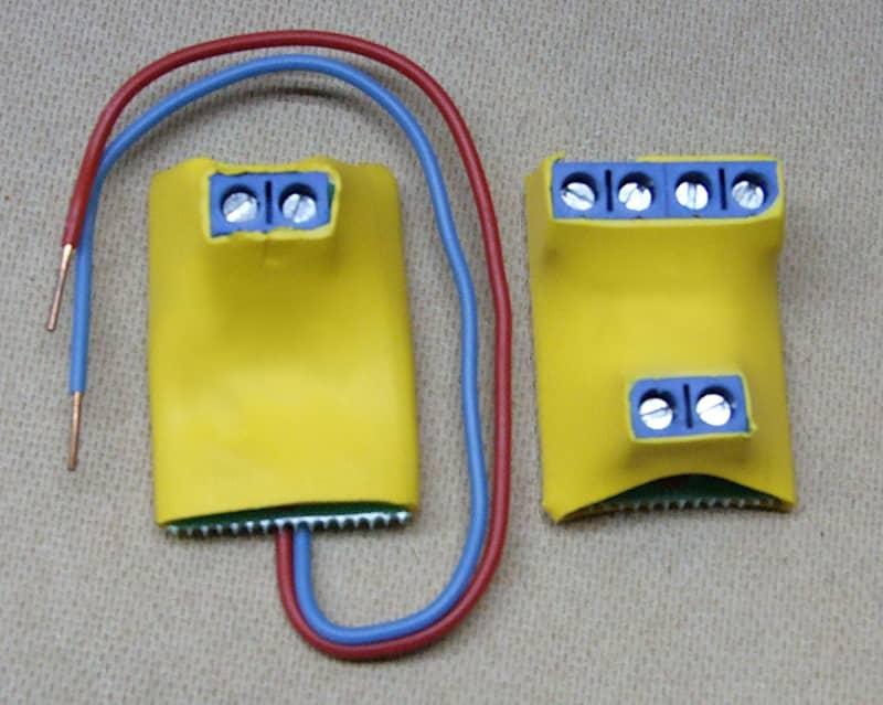 Блок кінцевого елемента шлейфа пожежної сигналізації