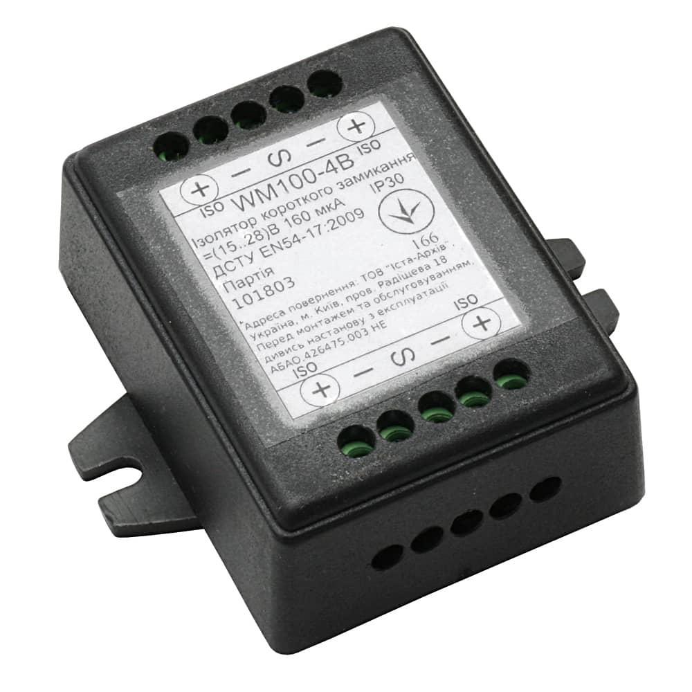 4-портовий ізолятор короткого замикання WM100-4B - ista.ua