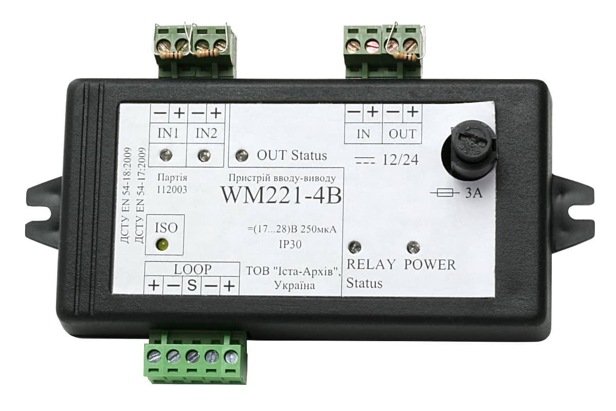 Пристрій вводу-виводу адресний WM221-4B