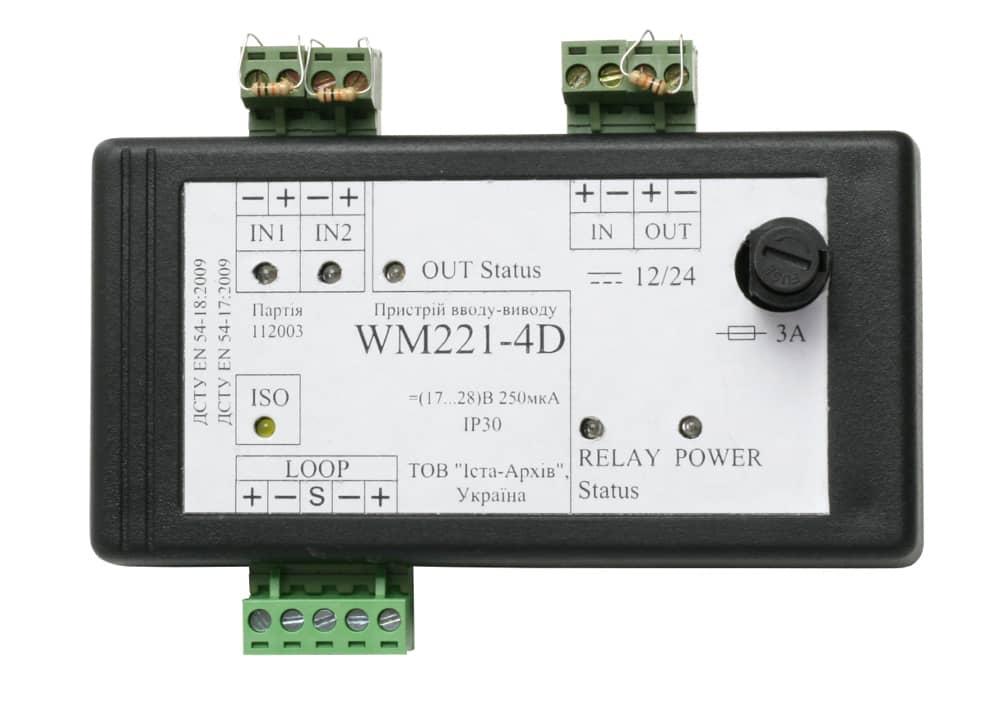 Пристрій вводу-виводу адресний WM221-4D
