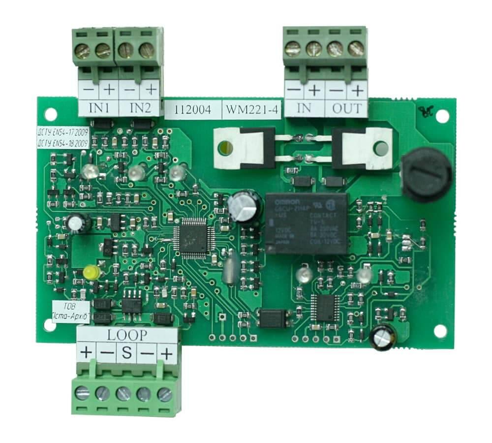 Пристрій вводу-виводу адресний WM221-4
