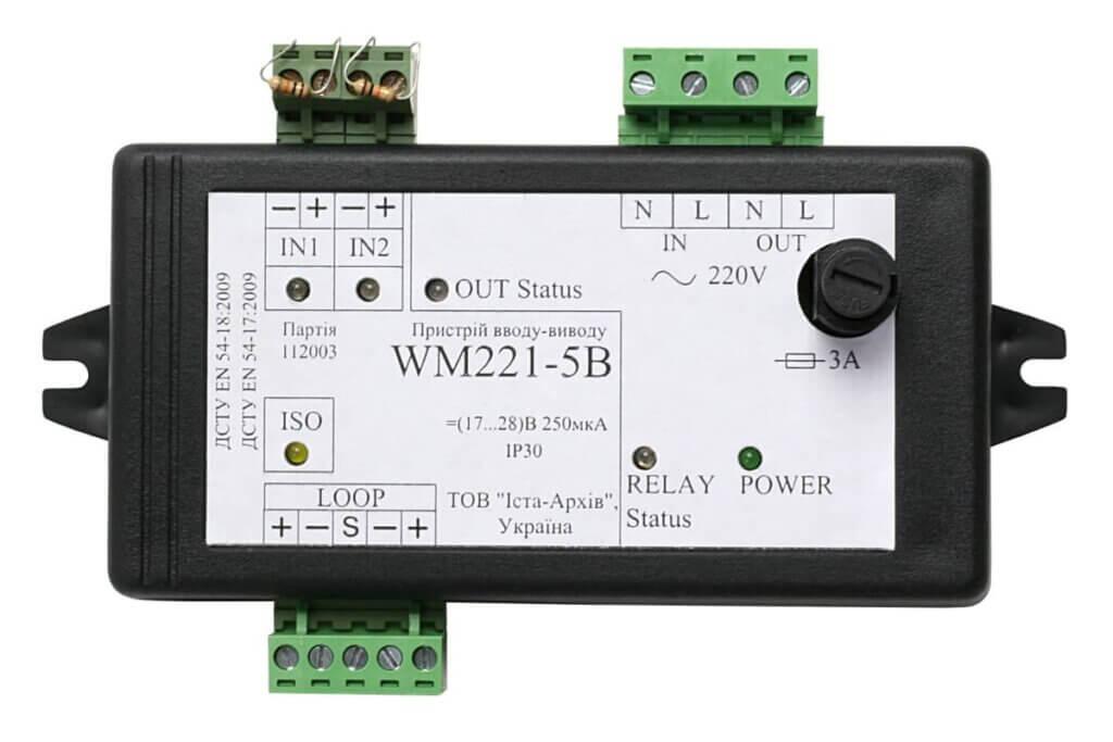 Пристрій вводу-виводу адресний WM221-5B
