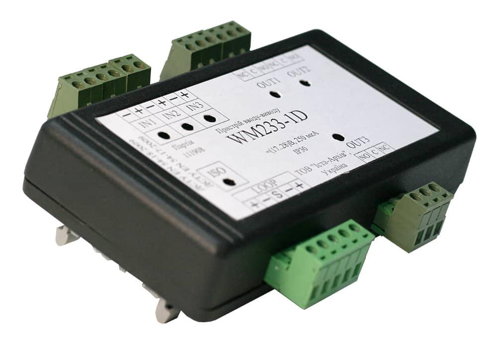 Пристрій вводу-виводу адресний WМ233-1D