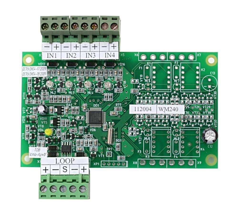Пристрій вводу-виводу адресний WM240 (плата)