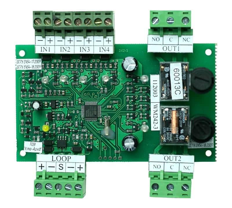 Пристрій вводу-виводу адресний WМ242-3