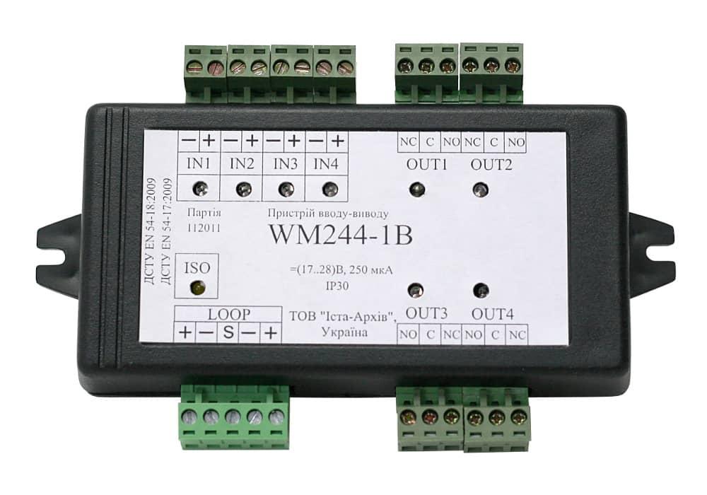 Модуль ввода-вывода адресный WМ244-1B в корпусе