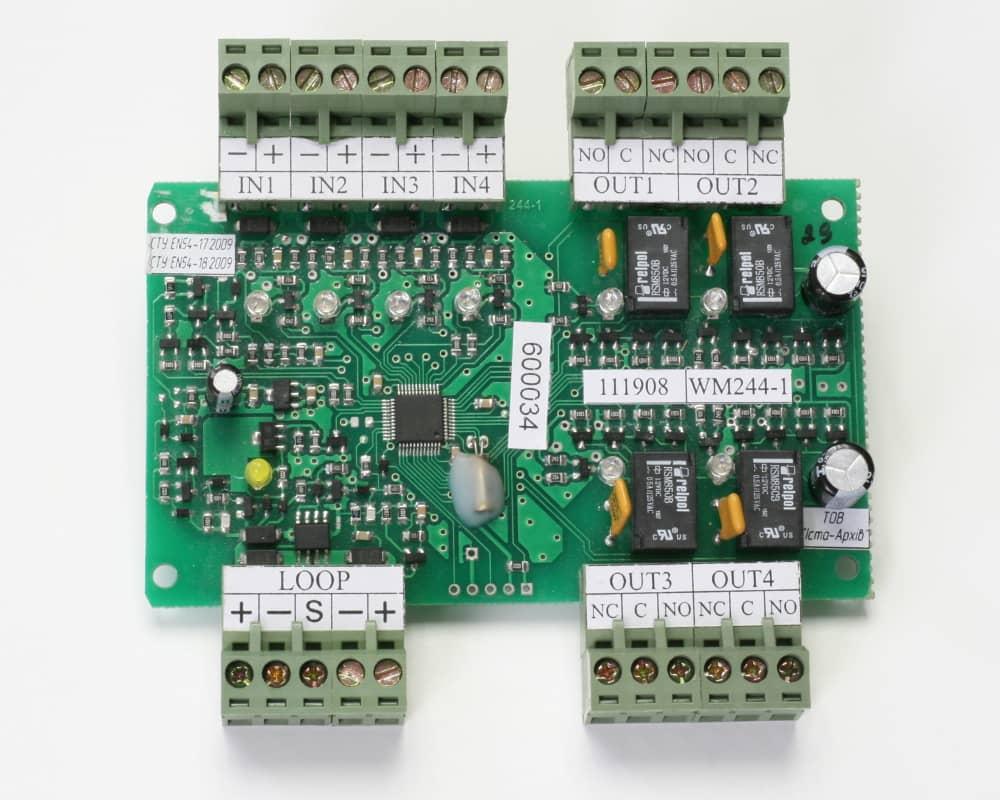 Пристрій вводу-виводу адресний WM244-1 (плата)