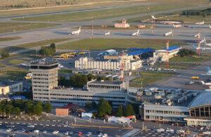 Будівля наземних перонн х бригад, аеропорт Бориспіль
